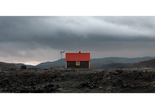 Glacier Shelter in Iceland. The Human Shelter. Image Courtesy of Boris Bertram
