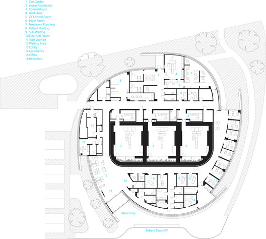 Hospitals and Health Centers: 50 Floor Plan Examples