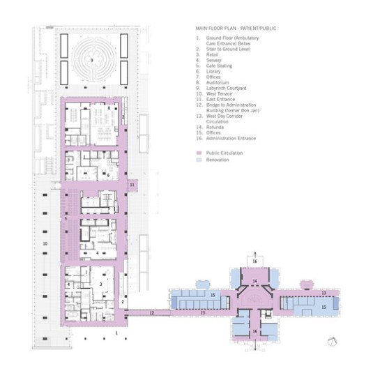 via Stantec Architecture + KPMB Architects + HDR Architecture + Diamond Schmitt Architects
