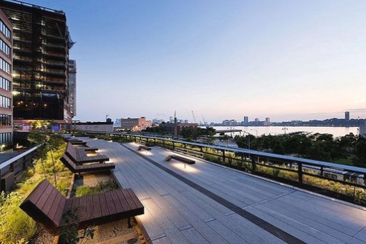 The High Line by James Corner Field Operations with Diller Scofidio + Renfro. Image © Iwan Baan