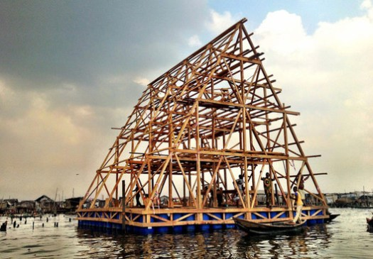 Makoko Floating School / NLÉ Architects. Image via Gizmag