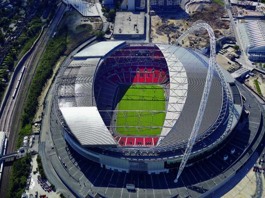 17. Wembley Stadium / London, UK. Image courtesy of Nigel Young