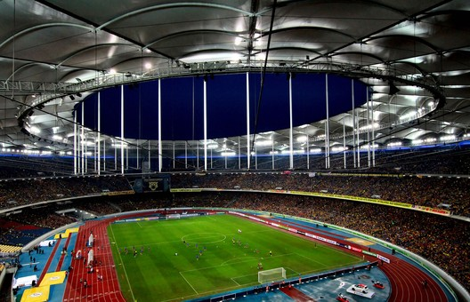 20. Bukit Jalil National Stadium / Kuala Lumpur, Malaysia. Image courtesy of flickr user phalinn. Licensed under CC BY 2.0