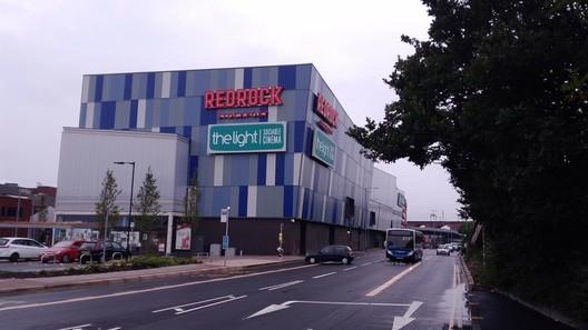 Redrock Leisure Centre, Stockport / BDP. Image via Building Design