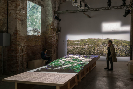 Lebanon Pavilion at the 2018 Venice Biennale. Image