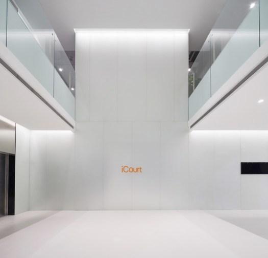 Lobby. Image © Zhao Bin Unique Architecture Photography