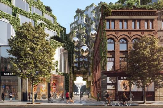 King Street West. Image Courtesy of Bjarke Ingels Group
