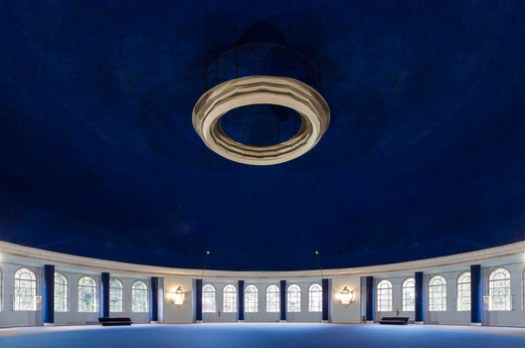 Mauá ballroom, its dome is 50 meters in diameter and 30 meters high. Image © Flagrante / Romullo Fontenelle