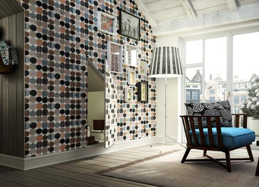 Linvisibile - Technical Closures - Nicchio - wallpaper finish. Image Courtesy of Linvisibile