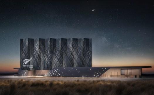 New Zealand Pavilion. Image Courtesy of Jasmax