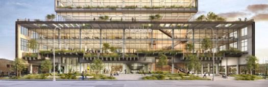 St. John's Terminal. Image Courtesy of COOKFOX Architects