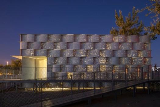 Light Trans-missive Concrete Facade. Image © Fangfang Tian