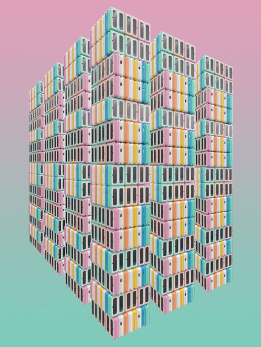 future SLICE Creates Apartments from Plugin Modules for Future City Living Architecture