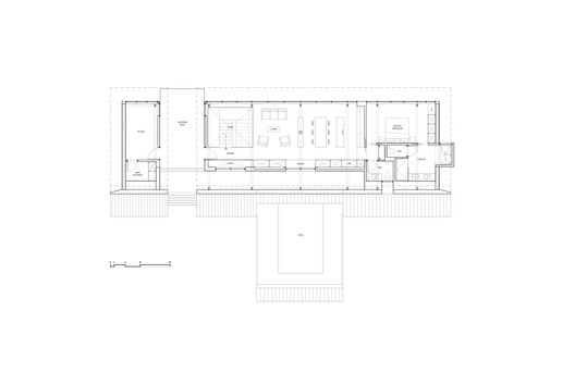 MAIN_FLOOR_PLAN Treow Brycg House / Omar Gandhi Architect Architecture