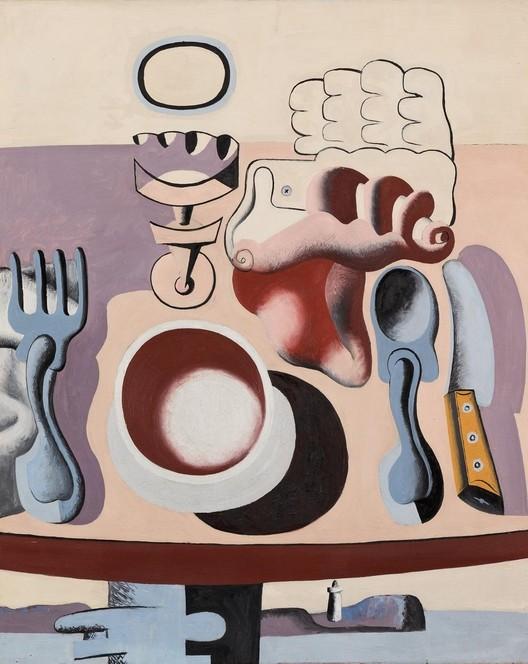 Le déjeuner près du pare, 1928. Image © The Foundation Le Corbusier / FLC ADGAP