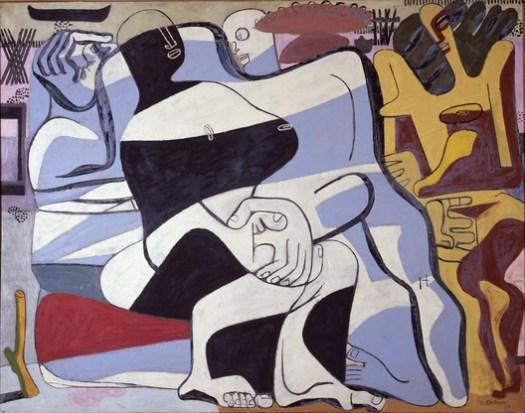 Trois baigneuses, 1935. Image © The Foundation Le Corbusier / FLC ADGAP