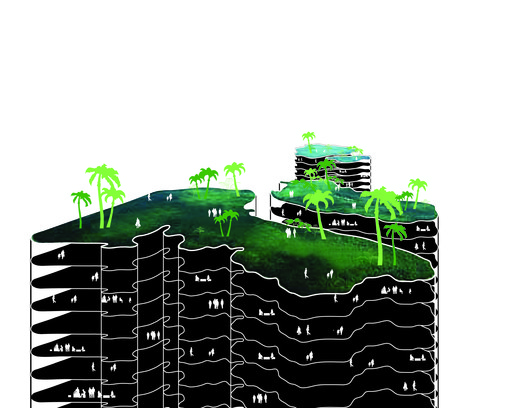West_Keys_Diagram-03 Park Grove / OMA / Shohei Shigematsu Architecture