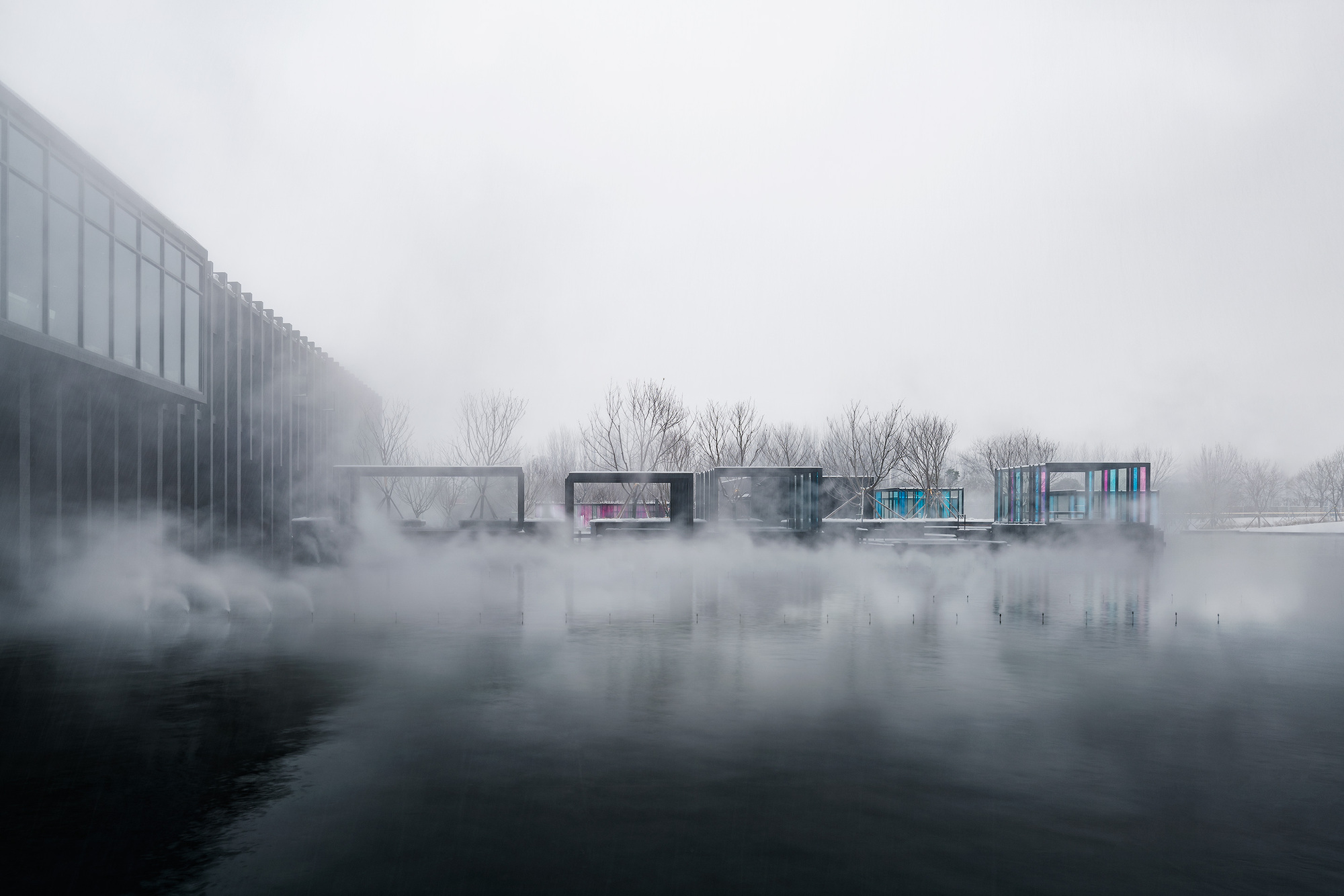 Mist Hot Spring Hotel Department Of Architecture Archdaily