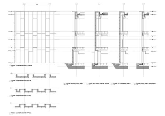 Facade detail Sky Central Building