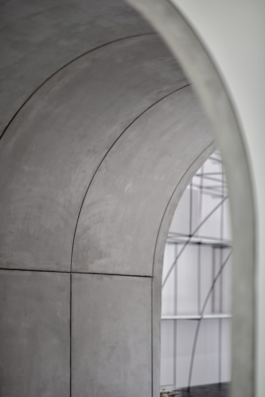 Detail of the archway. Image © Xiaodan Song