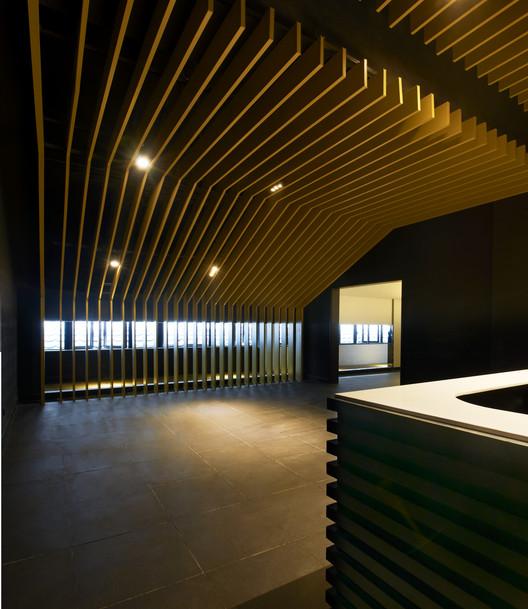 3F Reception. Image © HIROMATSU Misae