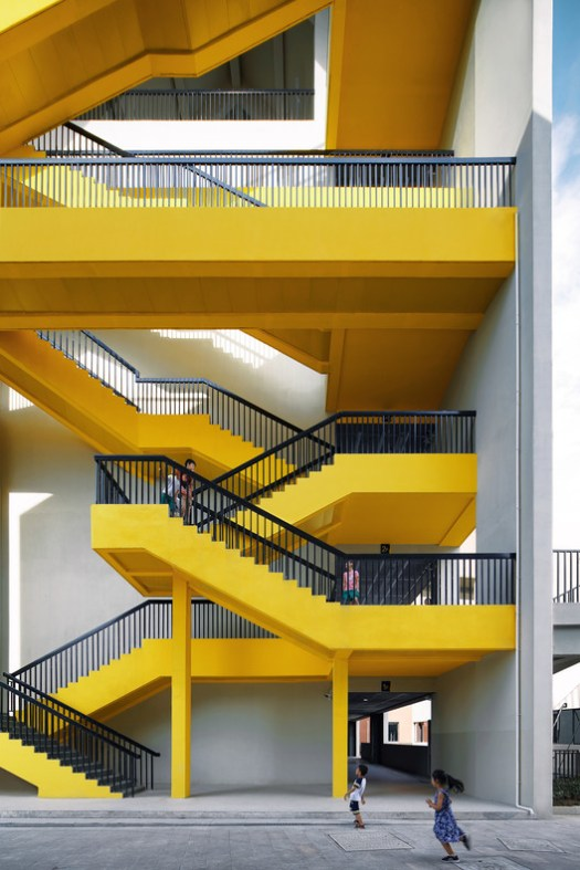 Gables And Stairs. Image © Qingshan Wu