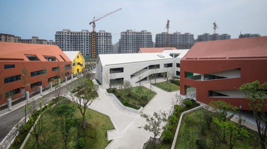 Ideal School In High-density Space. Image © Shengliang Su