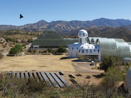 © Katja Schultz. ImageThe Biosphere 2 in Arizona