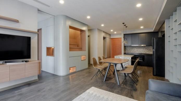 P02 Apartment / Comma Studio, Courtesy of Comma Studio