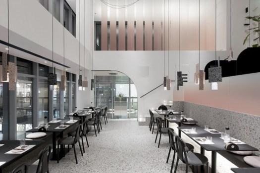 Big dining hall. Image © Qianqian Zhou