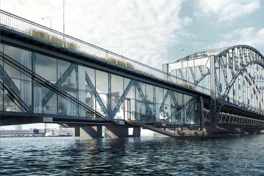 Gamla Lidingöbron. Image Courtesy of Urban Nouveau