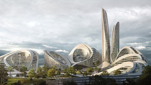 ZHA's Design © Flying Architecture