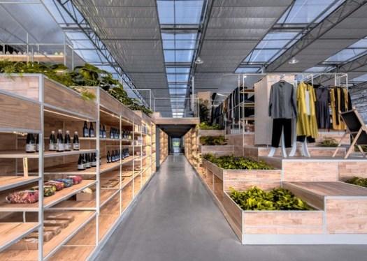 Market space. Image © Xiao Wang
