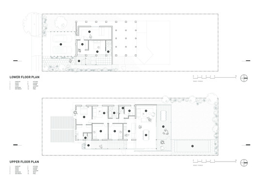 42479-FloorPlan Gresham Street House / Jackson Teece Architecture