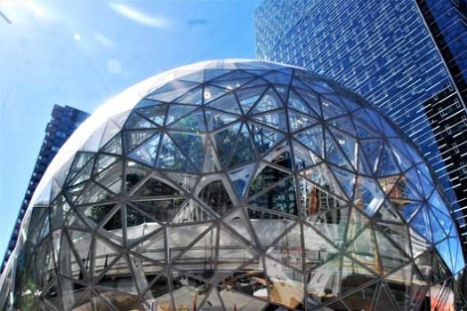 Amazon Seattle HQ. Image © Flickr user Joe Behr licensed under CC BY-ND 2.0