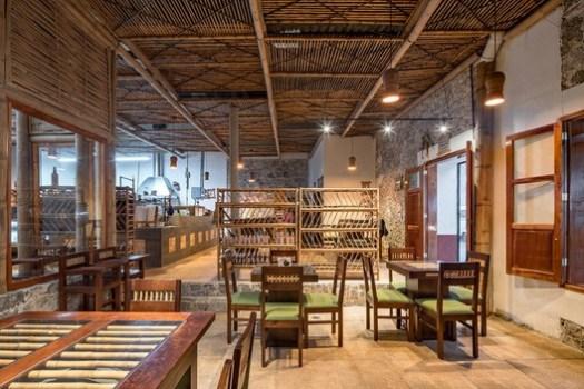 Cafetería Rural Comunitaria Tosepan Kajfen / Proyecto cafeína + Komoni. Image © Patrick López