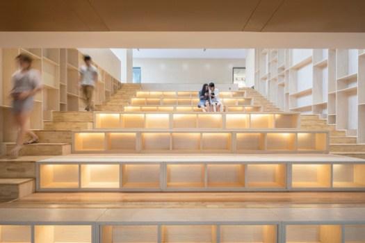Steps Library. Image © Fangfang Tia