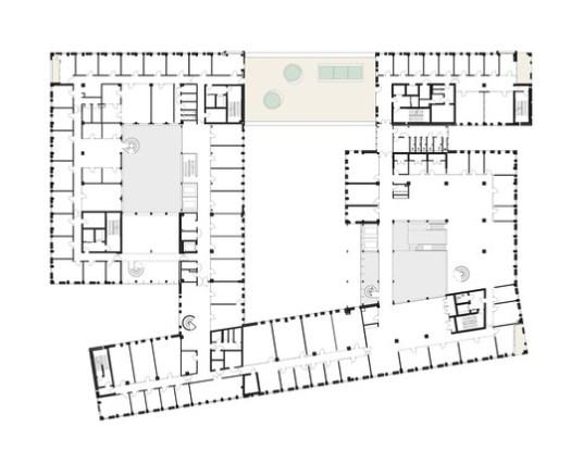 Third Floor Plan (Color)