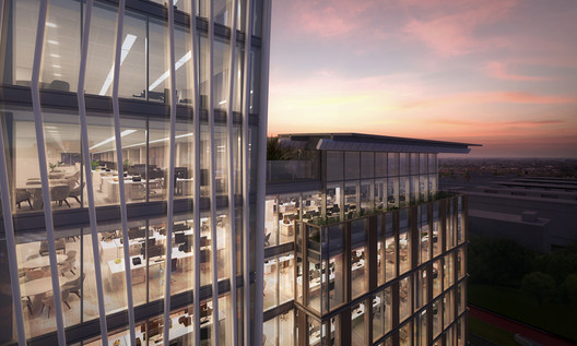 Tower Ten. Image Courtesy of PLP Architecture