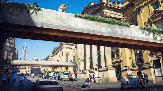 Unbuilt Newcastle. Image © QuickQuid / Neomam
