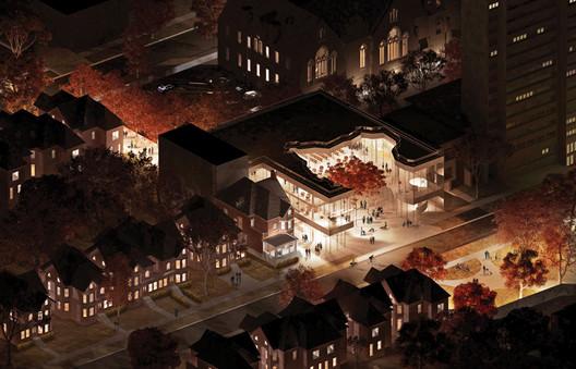 International Estonian Centre / Kongats Architects. Image via Canadian Architect Magazine