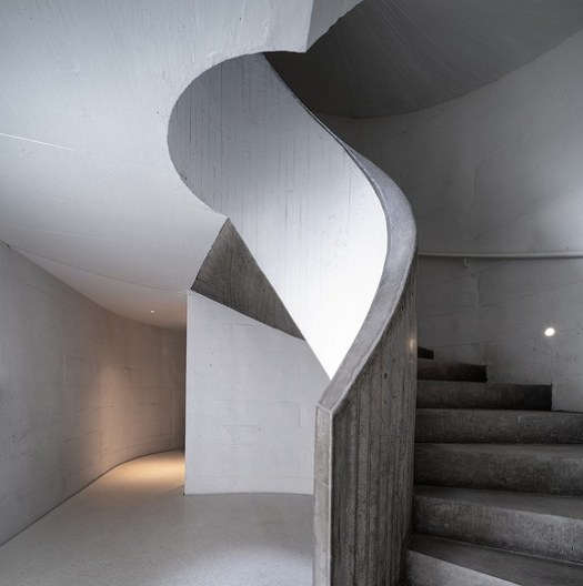 Spiral Staircase. Image © Qingshan Wu