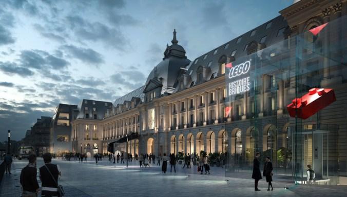 MVRDV va transformer le palais du commerce historique de Rennes, ses boutiques. Image © ENGRAM