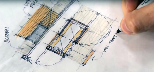 """Screenshot do vídeo """"Sketch like an Architect (Techniques + Tips from a Real Project)"""", de 30X40 Design Workshop"""