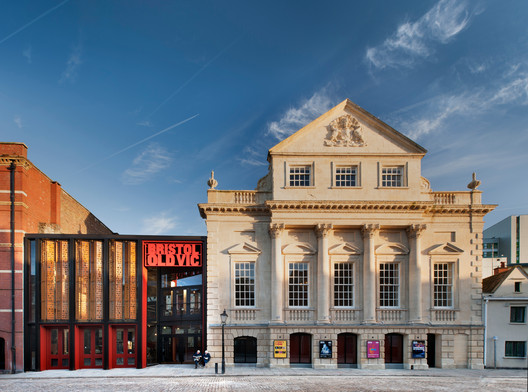 Bristol Old Vic. Image © Philip Vile