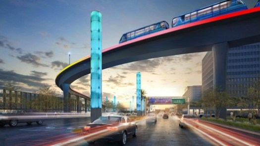 People Mover. Image Courtesy of LAX