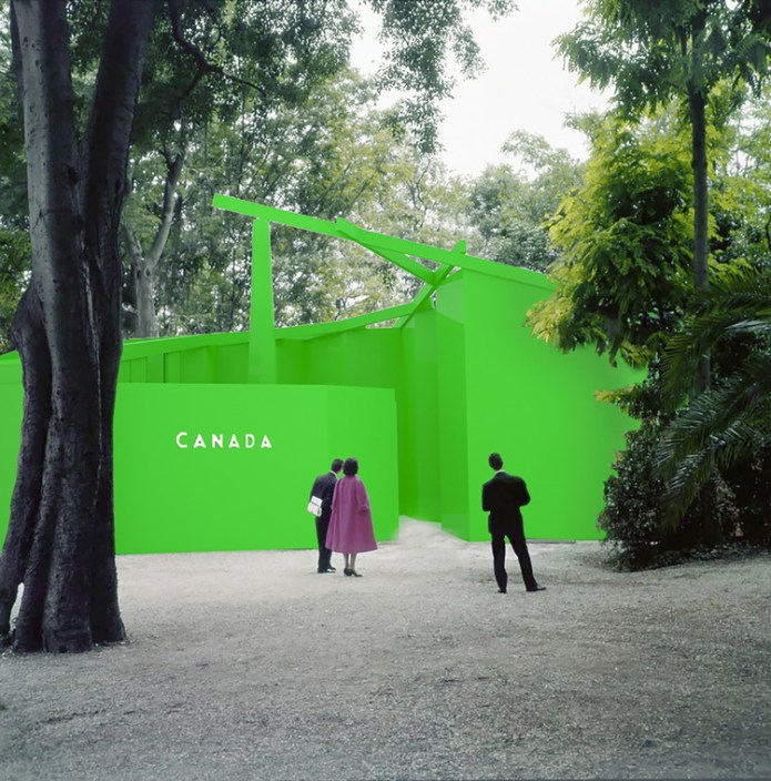 "The Green Screen ""Impostor Cities"" of Canada to be Evaluated in Nation's 2020 Venice Biennale Pavilion, Courtesy of The Canadian Pavilion 2020 Curatorial Team"