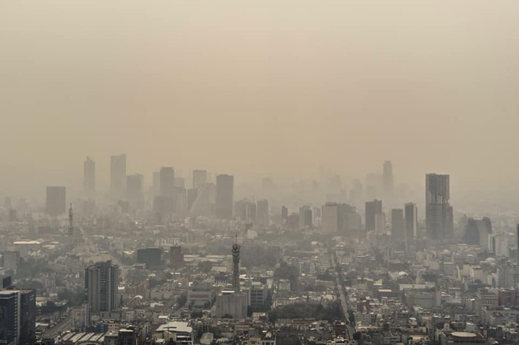 Activan contingencia extraordinaria por contaminación en la Ciudad de México, © Saniago Arau
