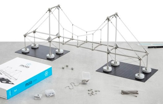 Mola Structural Kit 3. Image Courtesy of Mola Model