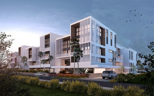 The Flats. Image Courtesy of Atelier Reach